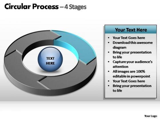 PowerPoint Design Slides Chart Circular Ppt Template