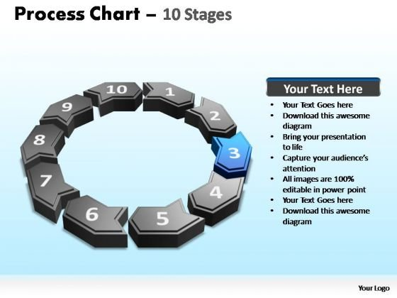 PowerPoint Design Slides Chart Process Chart Ppt Theme