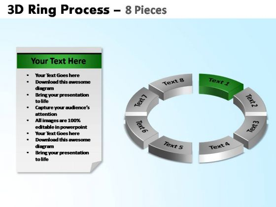 PowerPoint Design Slides Circle Chart Ring Process Ppt Slides