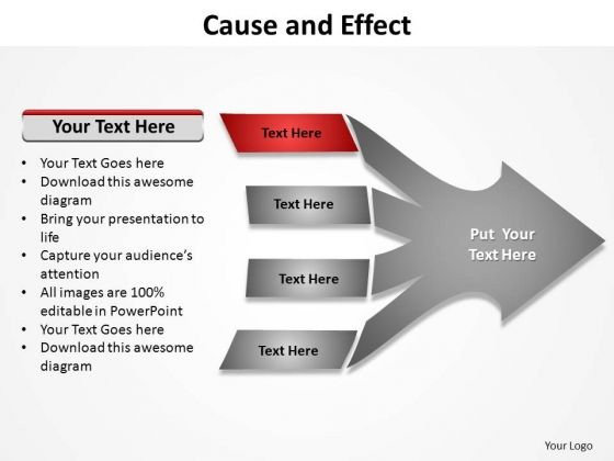 PowerPoint Design Slides Company Cause And Effect Ppt Template
