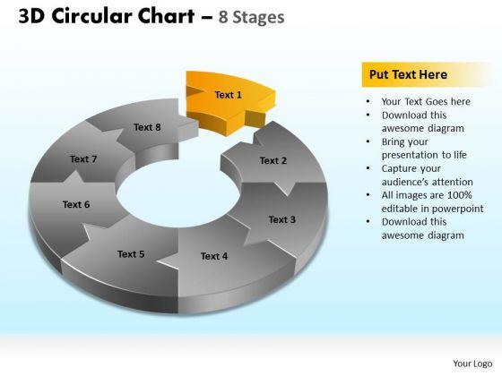 PowerPoint Design Slides Company Circular Chart Ppt Slides