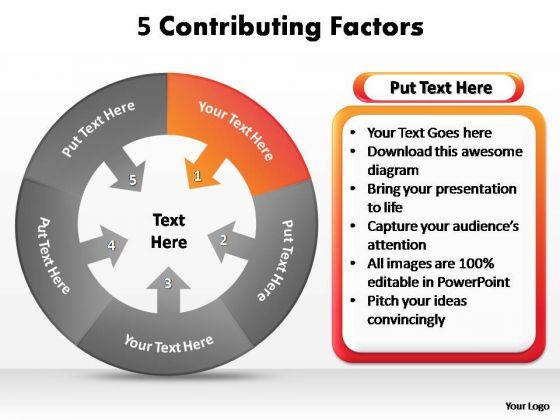 PowerPoint Design Slides Company Contributing Factors Ppt Presentation
