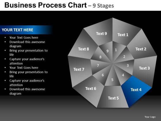 PowerPoint Design Slides Company Quadrant Diagram Ppt Themes
