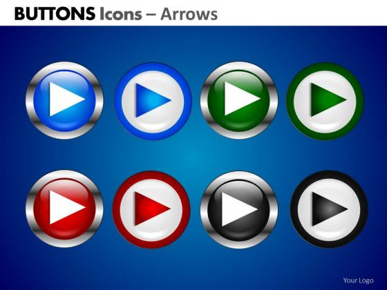 PowerPoint Design Slides Corporate Education Buttons Icons Ppt Process