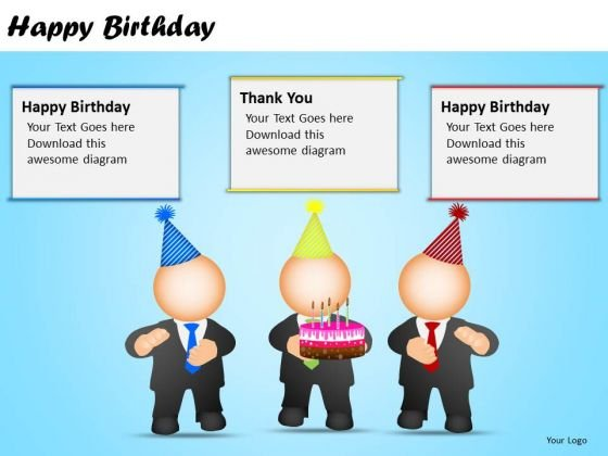 PowerPoint Design Slides Corporate Success Happy Birthday Ppt Slidelayout