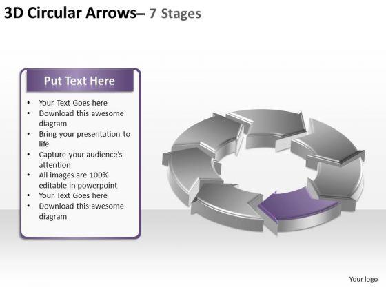 PowerPoint Design Slides Diagram Circular Arrows Ppt Designs