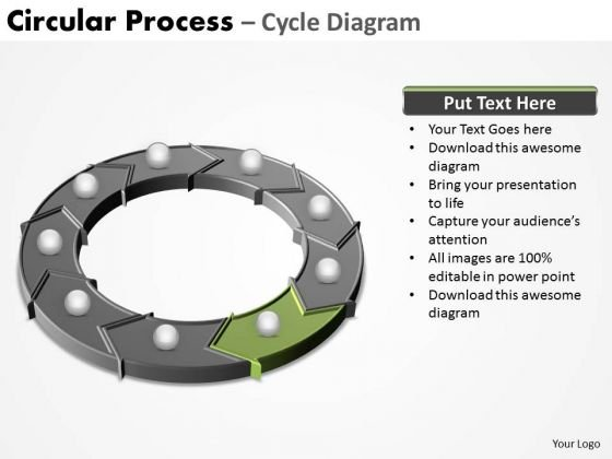 PowerPoint Design Slides Diagram Circular Process Ppt Template