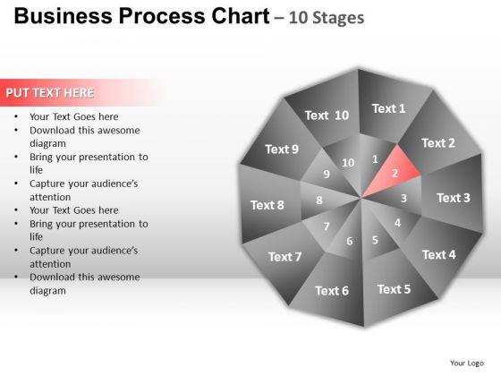 PowerPoint Design Slides Diagram Circular Quadrant Ppt Template