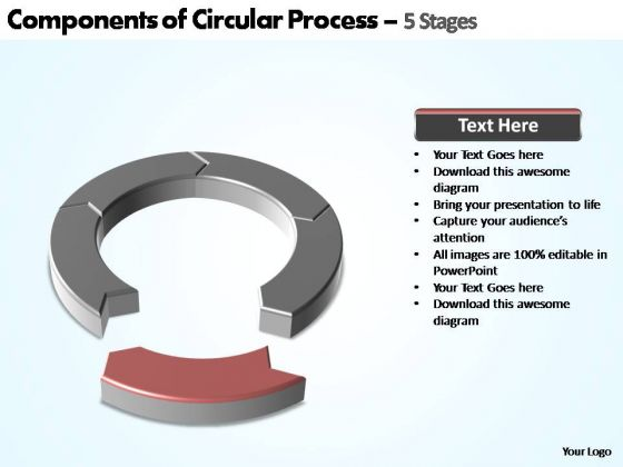 PowerPoint Design Slides Diagram Components Of Circular Ppt Design
