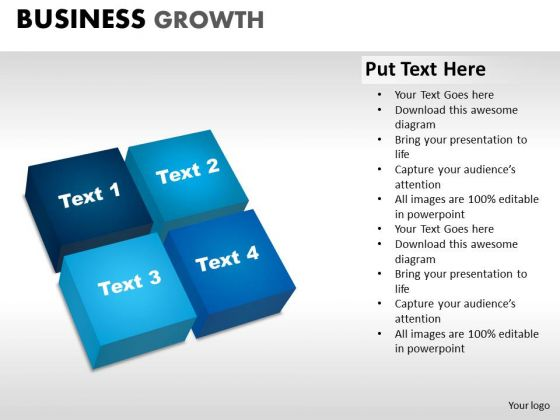 PowerPoint Design Slides Download Business Growth Ppt Slides