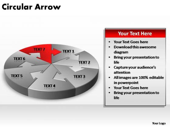 PowerPoint Design Slides Download Circular Arrow Ppt Slides