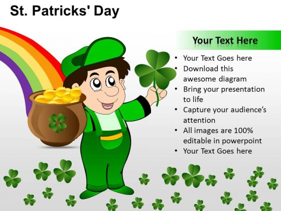 PowerPoint Design Slides Download Patricks Day Ppt Slide