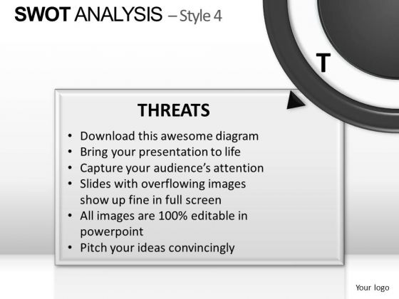 PowerPoint Design Slides Editable Swot Analysis Ppt Layout