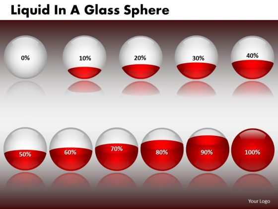 PowerPoint Design Slides Executive Success Liquid In A Glass Sphere Ppt Theme