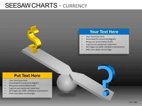 PowerPoint Design Slides Executive Success Seesaw Charts Currency Ppt Ppt Slide