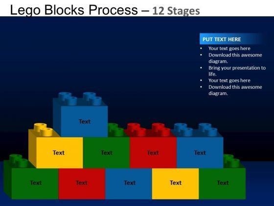 PowerPoint Design Slides Global Lego Blocks Ppt Backgrounds