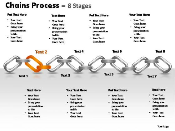 PowerPoint Design Slides Graphic Chains Ppt Backgrounds
