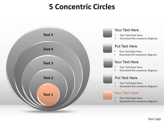 PowerPoint Design Slides Graphic Concetric Circles Ppt Design