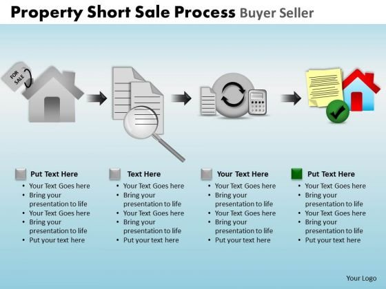PowerPoint Design Slides Graphic Property Short Sale Ppt Slide