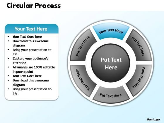 PowerPoint Design Slides Growth Circular Process Ppt Themes