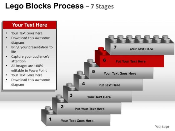 PowerPoint Design Slides Growth Lego Blocks Ppt Backgrounds