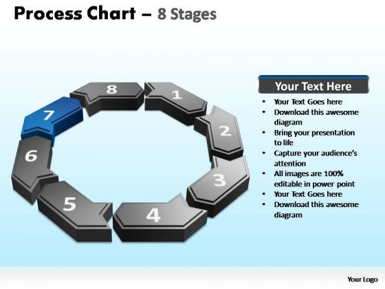 PowerPoint Design Slides Growth Process Chart Ppt Template
