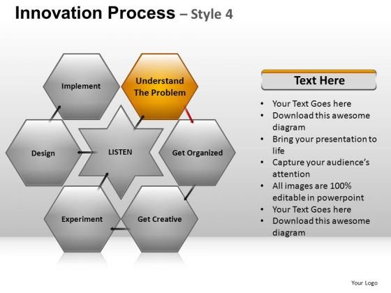 PowerPoint Design Slides Hexagon Chart And Ppt Slidelayout