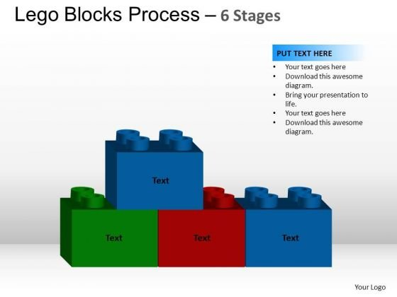 PowerPoint Design Slides Image Lego Blocks Ppt Designs