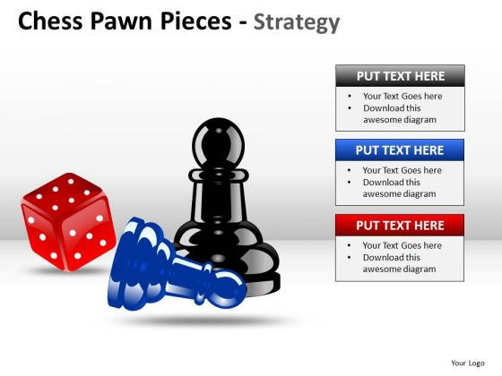 PowerPoint Design Slides Leadership Chess Pawn Ppt Layout