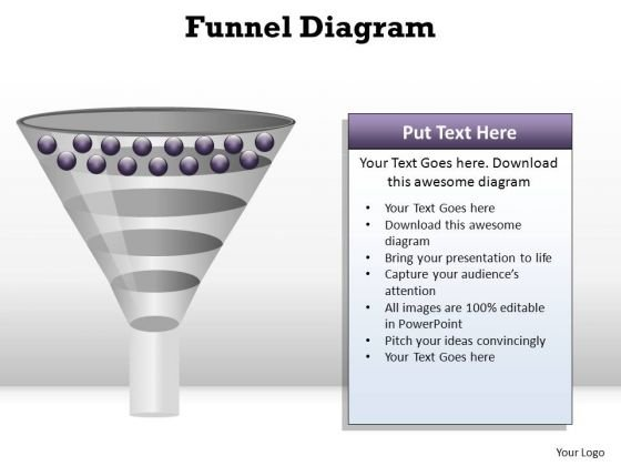 PowerPoint Design Slides Leadership Funnel Diagram Ppt Template
