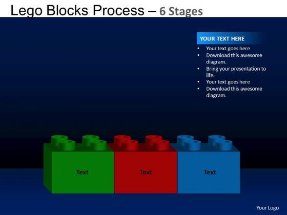 PowerPoint Design Slides Leadership Lego Blocks Ppt Design
