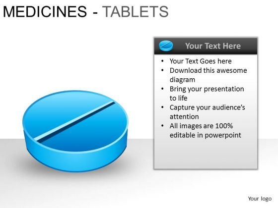 PowerPoint Design Slides Leadership Medicine Tablets Ppt Process