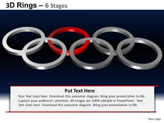 PowerPoint Design Slides Leadership Rings Ppt Layout