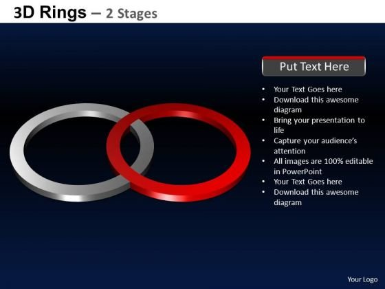PowerPoint Design Slides Process Rings Ppt Process