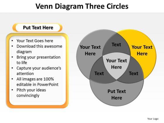 PowerPoint Design Slides Process Venn Diagram Ppt Backgrounds