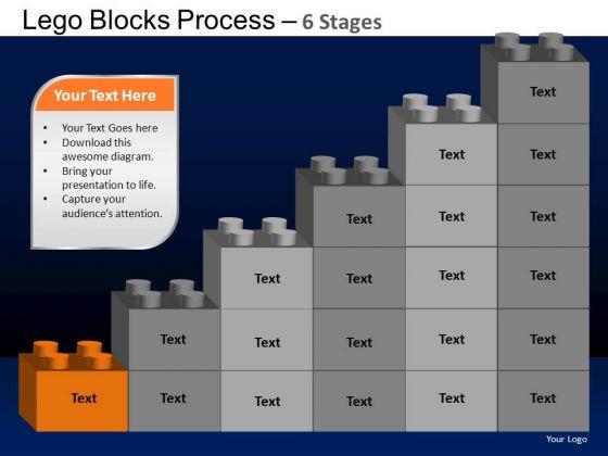 PowerPoint Design Slides Sales Lego Blocks Ppt Presentation
