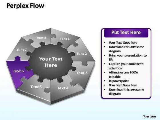PowerPoint Design Slides Strategy Perplex Flow Ppt Slides