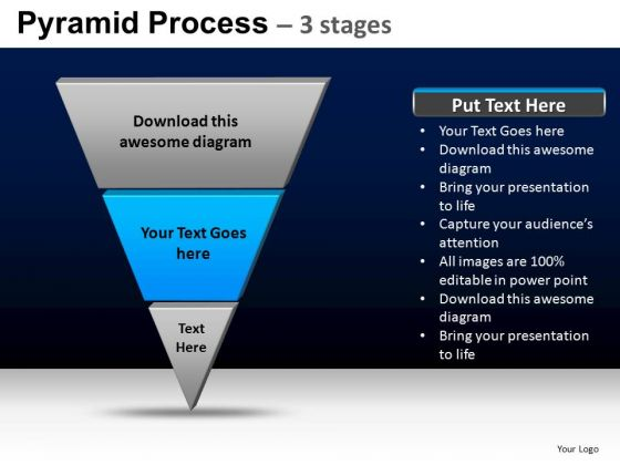 PowerPoint Design Slides Strategy Pyramid Process Ppt Layout