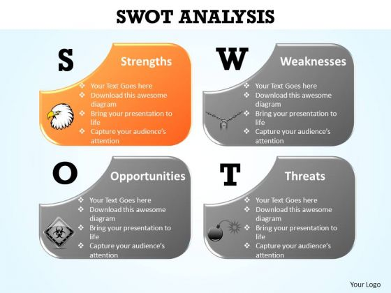 PowerPoint Design Slides Strategy Swot Analysis Ppt Slides