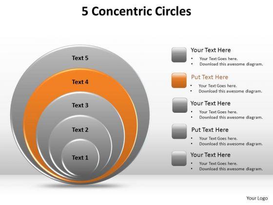 PowerPoint Design Slides Success Concetric Circles Ppt Presentation