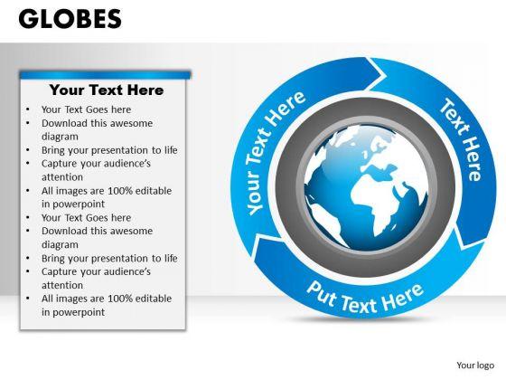 PowerPoint Design Slides Success Globes Ppt Slides