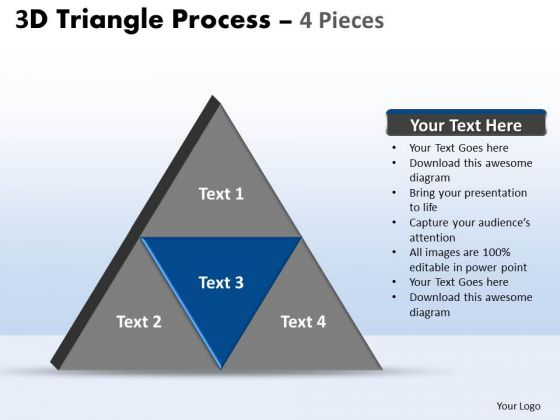 PowerPoint Design Strategy Triangle Process Ppt Layouts