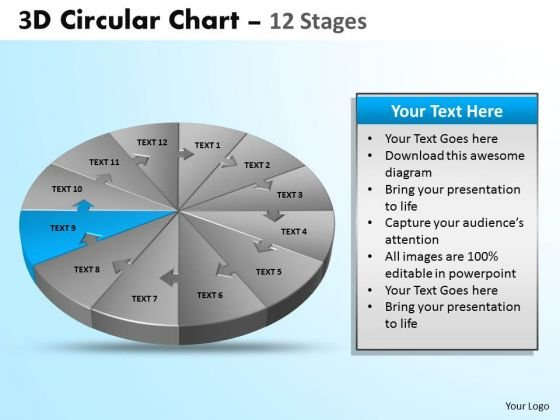 PowerPoint Design Success Circular Ppt Process