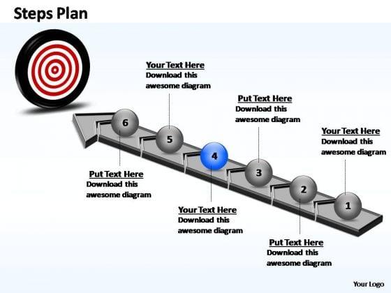 PowerPoint Design Success Steps Plan Ppt Slides