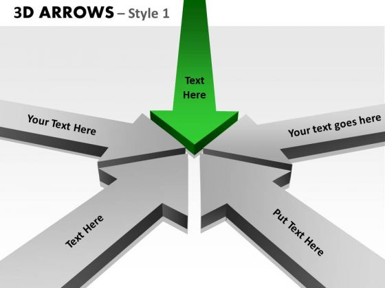 PowerPoint Design Teamwork Arrows Ppt Theme