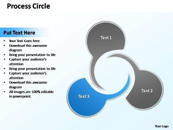 PowerPoint Design Teamwork Circle Diagram Ppt Theme