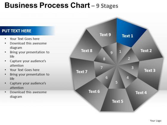 PowerPoint Design Teamwork Circular Quadrant Ppt Slide