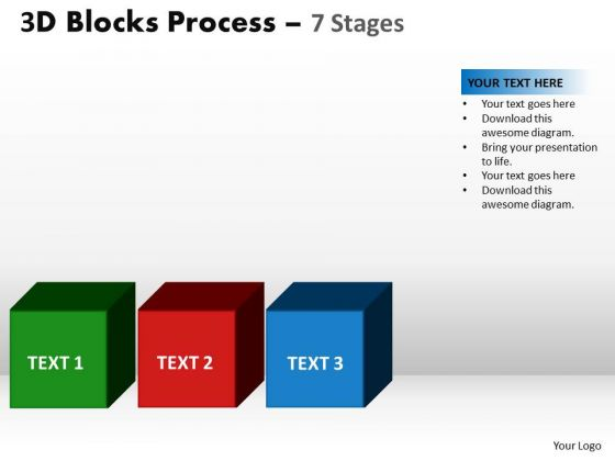 PowerPoint Designs Business Blocks Process Ppt Themes