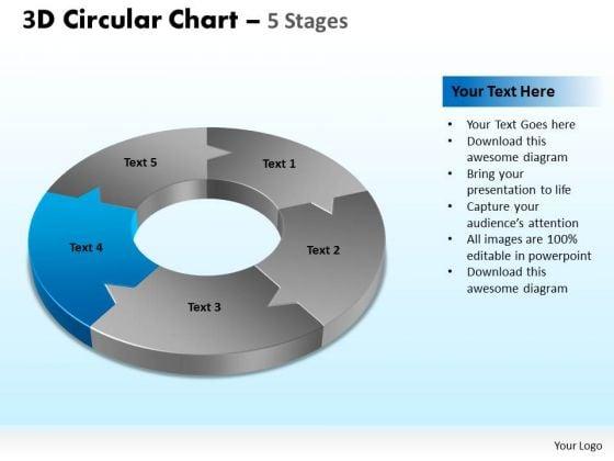 PowerPoint Designs Business Circular Chart Ppt Template