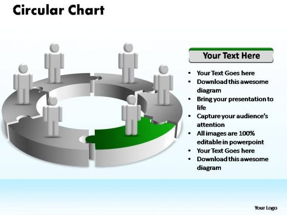 PowerPoint Designs Business Circular Ppt Themes